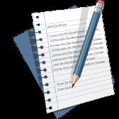 omagem de uma folha escrita com um lápis